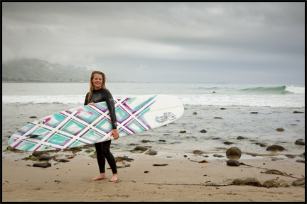 Portrait of a Surfer ©2009 Erin Feinblatt