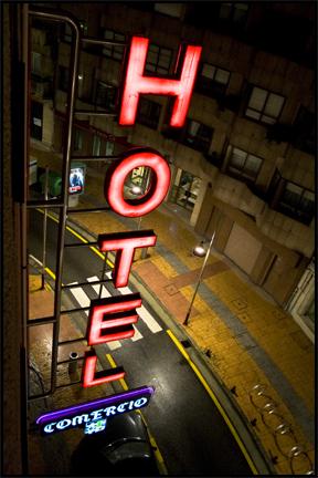 Hotel Comercio. Pontevedra, Spain. ©2009 Erin Feinblatt