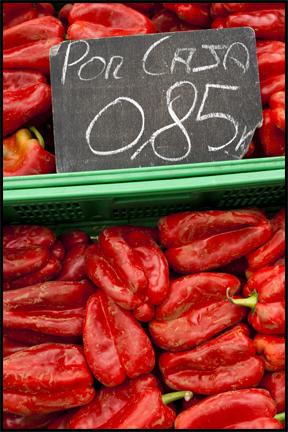 Red Peppers. ©2009 Erin Feinblatt