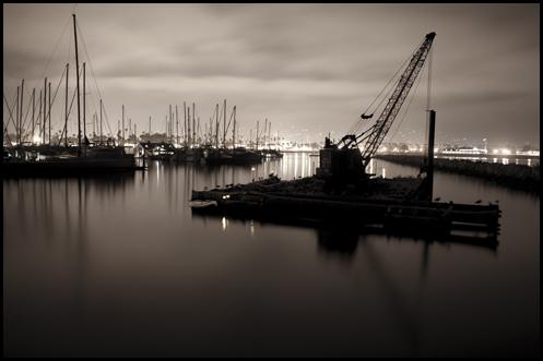 Santa Barbara Harbor ©2009 Erin Feinblatt